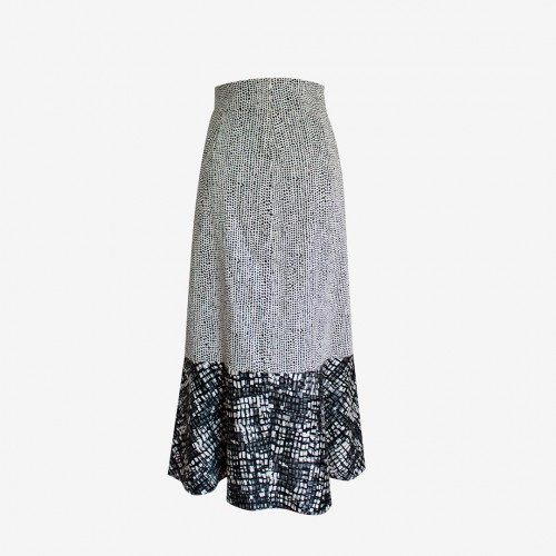 Luna Skirt Cuadros | Herencia