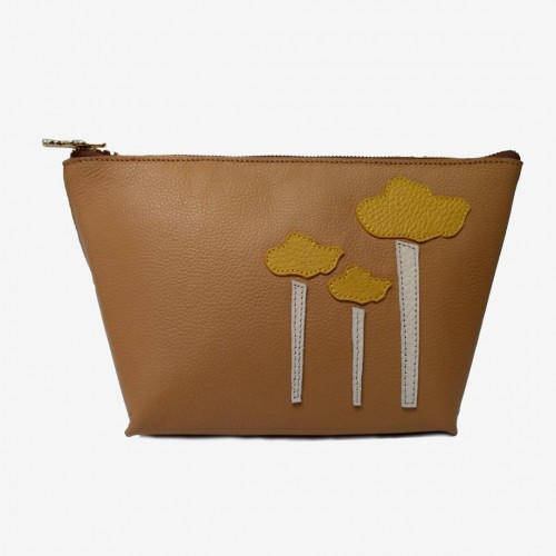 Make Up Bag Camel